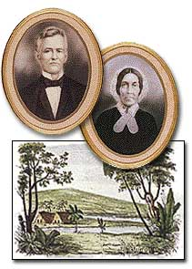 Missionaries David and Sarah Lyman, 1832